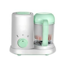 MOHAK Baby Food Maker, Mini 4 in 1 Homemade Baby Food Cooker, Infant Feeding Blender Puree Processor with Steaming, Blending, Heating and Defrosting Functions Organic Food Tools