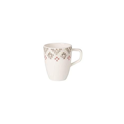 Villeroy & Boch Artesano Montagne Tasse à moka/expresso, 100 ml, Porcelaine Premium, Blanc/Gris