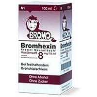BROMHEXIN 8 3x 100ml Tropfen- Schleimlösend für Bronchien und der Lunge mit zähem Schleim. preisvergleich bei billige-tabletten.eu