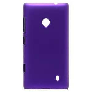 ImagineDesign Rubberised Hard Case For Nokia Lumia 520/525 (Purple)