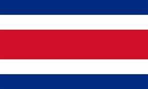 FRIP - XXL Costa Rica Fahne Flagge Gr. 2,50x1,50m mit Ösen