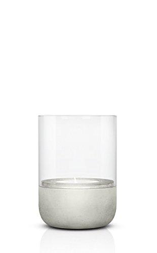 blomus-calma-portacandela-antivento-calcestruzzo-vetro-trasparente