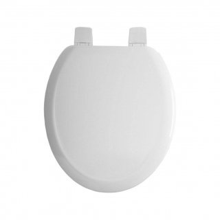 Armitage Shanks S405501 White Gemini Toilet Seat and Cover, Toilet