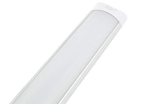 LineteckLED - P25-48N Plafoniera Led Ultraslim 150cm 60W Luce Naturale (4200K) 4800 Lumen sostituisci la Tradizionale Plafoniera Neon con le Plafoniere Led a Soffitto Moderno