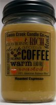 Swan Creek Roasted Espresso 24 Oz Jar Candle by Swan Creek Candle