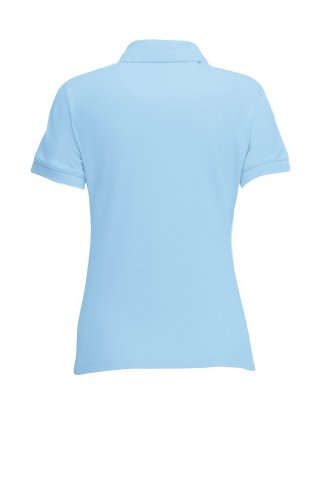 Fruit of the loom lady-fit 63–212–0 polo en coton mélangé Bleu - Bleu ciel