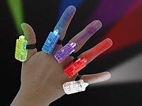 infactory Bunte LED-Fingerlichter im 5er-Set von infactory - Lampenhans.de