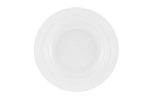 Jeverland Weiß Suppenteller, 23cm Ø