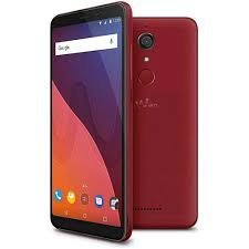 Wiko View Smartphone, 16 GB, Marchio Tim, Rosso Ciliegia