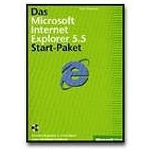 Das Microsoft Internet Explorer 5.5 Start-Paket - reference book - CD - German