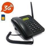Express Panda Neueste 3G GSM Wireless Schreibtisch Telefon mit SIM-Karte Slot-Only Unterstützung 3G Netzwerk WCDMA 850/2100MHz Frequenzen