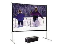 da-lite FastFold® Deluxe Bildschirm System-Projektionswand -