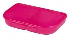 Herlitz Brotdose (2er Sparpack, pink)