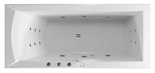Whirlpool Wasser, Whirlpool Badewanne Hydro, MASSAGE MAXIMA ECO – Whirlpool für Wellness und Entspannung – für fast alle Wannen