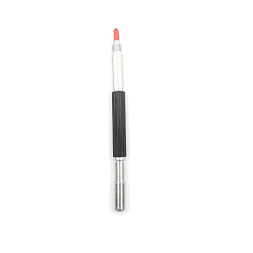 Glass Cutter - 1pc Glass Shell Metal Construction Marking Bs Approx 145 Mm Tungsten Steel Tip Scriber Clip Pen - Tube Duty Flat Japan Pouch Bohle Fused Filled Bottle Uxcell Wheel Power Hand -
