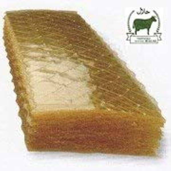 Gelatina en lamina Halal- 1kg- 300 Laminas. Sabor Neutro ...