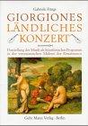 Giorgiones Ländliches Konzert: Darstellung der Musik als Künstlerisches Programm in der venezianischen Malerei der Renaissance