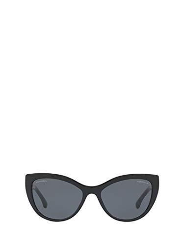 Chanel luxury fashion donna ch5409c501s4 nero occhiali da sole | primavera estate 19
