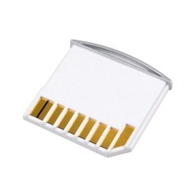 CY Micro SD TF to SD Card Kit Mini Adaptor for Extra Storage Macbook Air / Pro / Retina White 20mm approximately de CY - Adaptateurs pour cartes mémoire