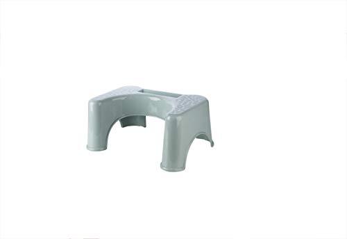 Nwn Dicke Kunststoff-WC-Hocker Anti-Rutsch-Erwachsene Squat Hocker Kinder-WC Squat Hocker Hocker Hocker 47,5 * 35 * 21,5 * 30 * 20cm (Color : Blue)