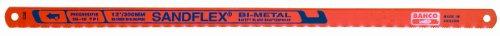 Bahco 3818–300-prog-100 Lot de 100 Progressive à la main bimétal Lame de scie à métaux