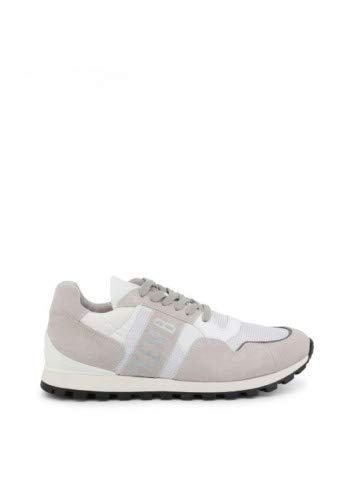 Bikkembergs Sneakers Uomo Tessuto camoscio Bianco off White. cod. BKE109294 Taglia 44