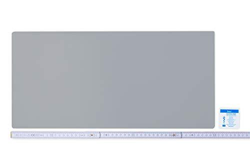 Flickly Anhänger Planen Reparatur Pflaster   in vielen Farben erhältlich   50cm x 24cm   SELBSTKLEBEND (Silber)