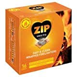 192 Zip 'Energy' Wrapped Firelighters No mess, no smell, just light the wrapper
