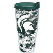 Tervis Tumbler Michigan State Spartans Paint Splatter Wrap 24oz with Travel Lid by Tervis Tervis Tumbler Michigan