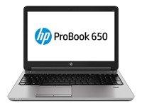 """HP ProBook 650 G1 - 15.6"""" - Core i5 4300M - Windows 7 Pro 64-bit - 4 GB RAM - 500 GB HDD"""