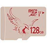 BRAVEEAGLE 128GB microSD Karte UHS-I microSDXC ultrahochgeschwindigkeit voll UHD 80MB / s lesen Geschwindigkeit microSD Speicherkarte für Nintendo / Tablet (128 GB U3)