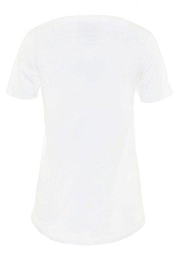 DAILY'S AMIE Damen oversize, basic T-Shirt mit Rundhalsausschnitt aus 100% Bio-Baumwolle - soziale fair trade Kleidung, Mode vegan und nachhaltig Color white, Size S - 2
