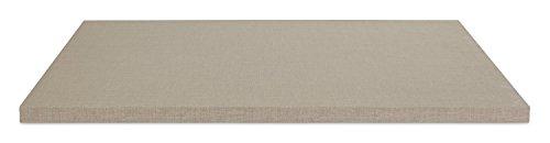 Einlegeboden Regalboden Fachbrett | Hellgrau | 88x48 cm