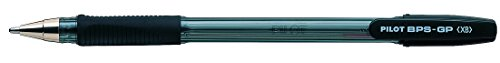 Pilot BPS GP Kugelschreiber 12 Stück gummierter Griff extra breite 1,6mm Schreibspitze...