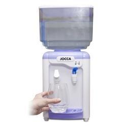 JOCCA 1102–Distributore di acqua con serbatoio, colore: bianco/viola