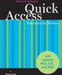 Simon & Schuster Quick Access Reference for Writers, Updated Third Canadian Edition, with MyCanadianCompLab