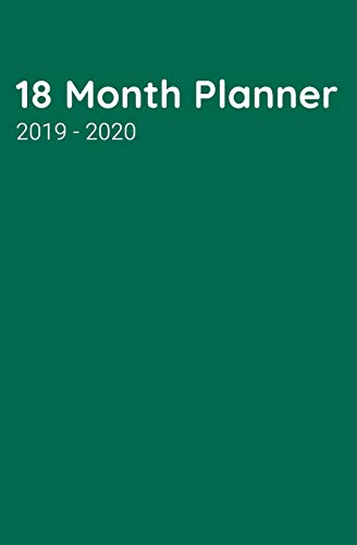 18 Month Planner: Business, Personal or Social; This Bright Kelly Green Weekly Schedule Help Keep Your Homework, Meetings, or Engagements in One Place ... (18 Month Plans Goals Wins Planner, Band 9) Kelly Green Boys Band