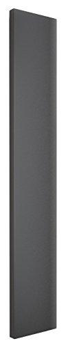Designheizkörper Mittelanschluss Milano, 180x45 cm, 805 Watt, anthrazit, Wohnraum-Heizkörper vom Renovierungsprofi
