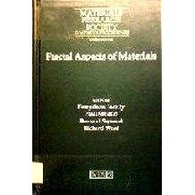 Fractal Aspects of Materials: Symposium Held November 28-December 1, 1994, Boston, Massachusetts, U.S.A (Mrs Symposium Proceedings Series, 367)