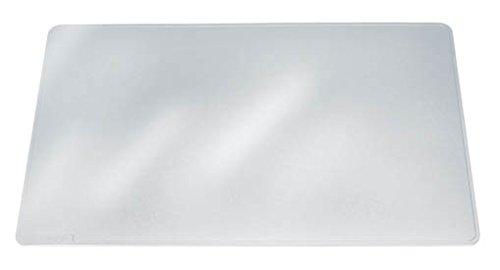 Klar Glas-schreibtisch (Durable 711319 Schreibunterlage (Duraglas, 50 x 65 cm) transparent)