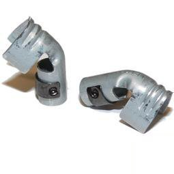 4x Ht 8mm Push Dans terminalen en acier pour bougie d'allumage-7mm d'angle kräuselung type