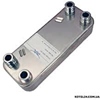 Vaillant ec0max Turbomax VUW secundaria intercambiador de calor, 12placa 065131* Nuevo *