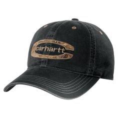 Carhartt Cedarville Cap - Schwarz Herren Baseball cap Mütze Kappe CH101470001BK-One Size Carhartt Baseball-kappe