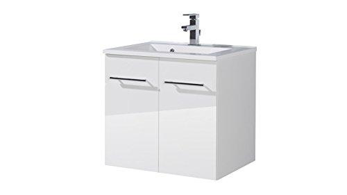 KESPER Badmöbel-Set »Waschplatz Lugo 60 cm«   weiß