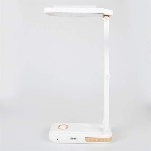 Leselicht,Tischleuchte,Folding Led Schreibtischlampe Druckschalter Spiegel Licht Tube 2 Ebene Dimmen Tischleuchte Stand Wiederaufladbare Led Tischlampen -
