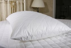 The Bettersleep Company Brand - Hotel Quality Supersoft Microfibre Pillow Protector Pair - Soft Diamond Quilted & Anti Allergenic Extra Comfort