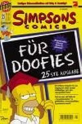 Simpsons Comics 25, Der Tag an dem Homer dachte! Bongo Comics Group. Nov 1998, Comic-Heft