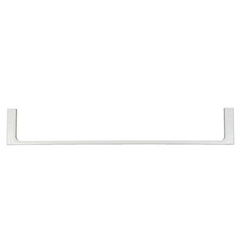 ORIGINAL Liebherr 7412448 Leiste Zierleiste Bodenleiste Schiene Einlegeboden Regal Glasbodenleiste Türablage Halterung Bodenhalterung Schutz vorne Kühlschrank Gefrier Kühl-Gefrier-Kombination