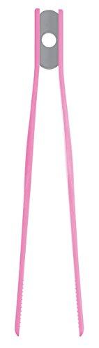 Colourworks - Pinzas de cocina (29 cm), color rosa