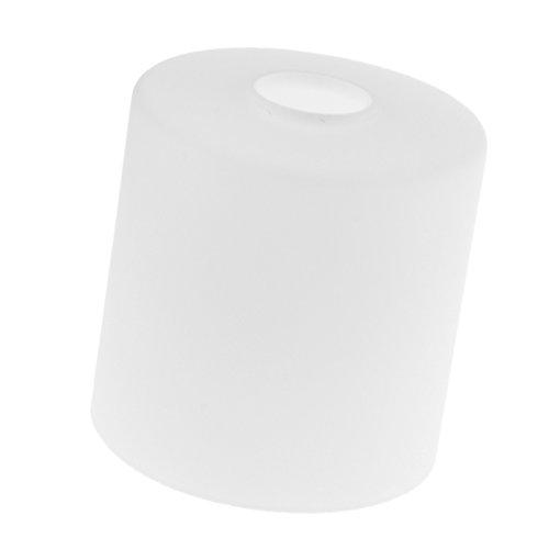 Homyl Zylindrischer Lampenschirm für Wandlampe Hängeleuchte Deckenleuchte Pendelleuchte, weiß - Dia. 15 cm -